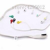 Mortara ten lead holter cable, snaps end, 9293 026 50(AHA); 9293 017 50(IEC color)