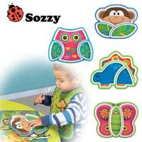 High Quality 6M Infant Baby Kids Children Safe Feeding Tableware Zoo Animal Melamine Dishes Plate Enfant