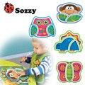 Alta qualidade 6 M + infantis Baby crianças crianças seguras utensílios de mesa de alimentação Animal Zoo pratos de melamina placa enfant pratos platão