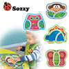 High Quality 6M Infant Baby Kids Children Safe Feeding Tableware Zoo Animal Melamine Dishes Plate Enfant