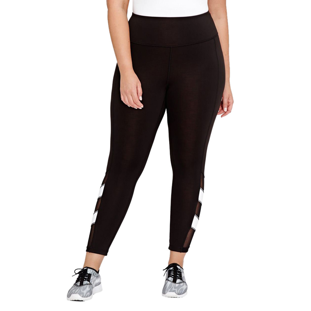 2018 women workout high waist  elastic leggings pants casual comfortable stretch  black pencil pants ankle-length pants