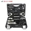 Kit caixa conjunto multi mtb pneu ferramentas de reparo da corrente falou chave kit hex chave de fenda bicicleta ferramentas mão 18 em 1 ferramentas de reparo da bicicleta