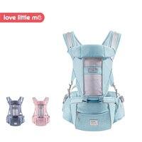 Love Little Me Brand Mesh Breathable Baby Carrier Ergonomic Baby Sling Wrap Hipseat Baby Kangaroo Backpack Newborn 0 36 Months