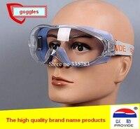 Provide merk ontworpen veiligheidsbril oogbescherming eyeprotection tegen shock anti-zand splash werken beschermende goggles