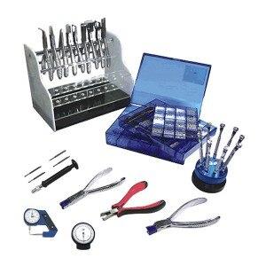 Инструменты комплект PK A22C Щипцы для наращивания волос и отвертка набор | в том числе винты и объектива часы