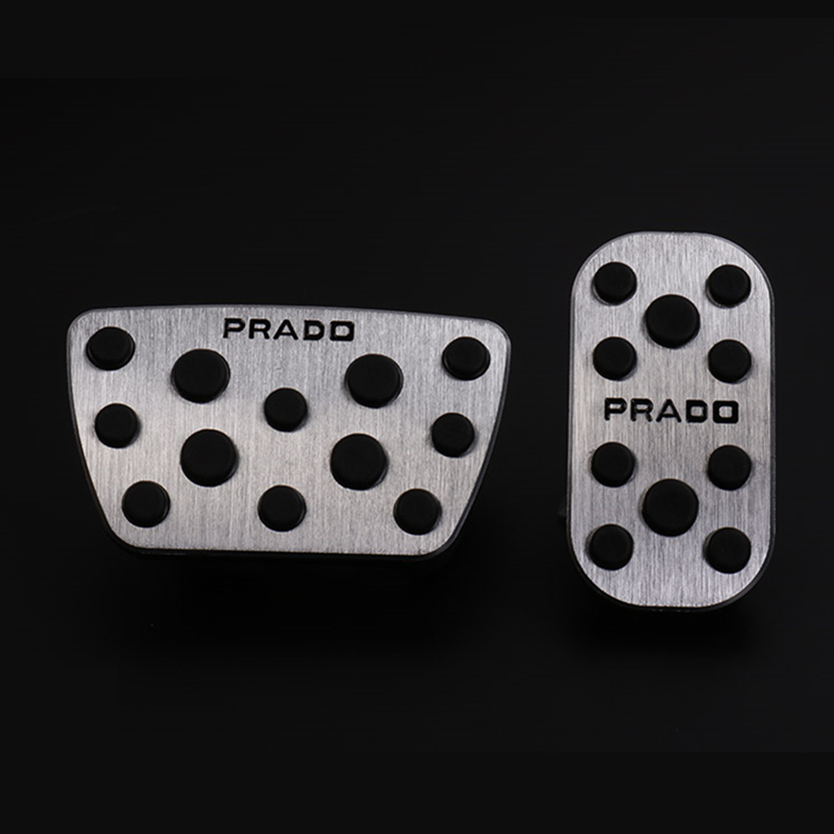 Image 2 - Car Accelerator and Brake Pedals for Toyota Land Cruiser Prado 150 2010 2012 2013 2014 2015 2016 2017 2018 AT Accessories-in Chromium Styling from Automobiles & Motorcycles