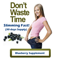 One Bottle for 30 DAYS SUPPLY Blueberry extracts weight loss product 100% effective slimming diet supplement