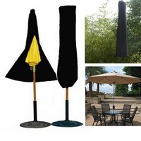 Top Quality Outdoor Yard Garden Umbrella Parasol Cover Zipper Waterproof For Camping Hiking Tent Accessories