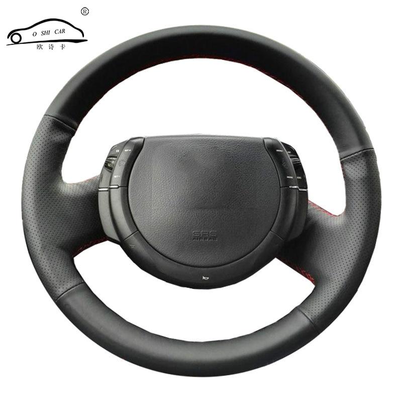 Steering Wheel Braid For Citroen Triumph C4 2005-2010/Car Steering Wheel Covers Protect Car Interior