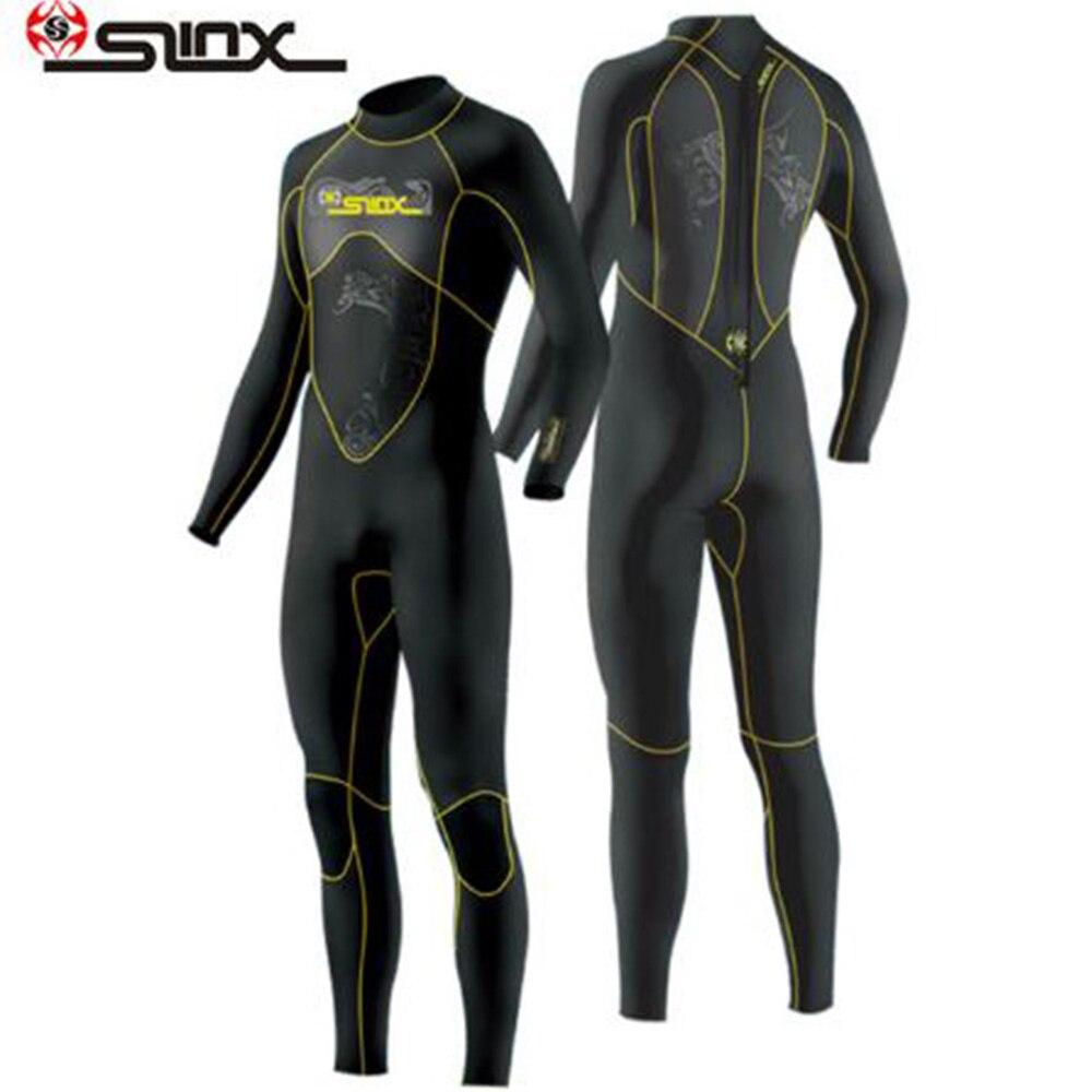 Slinx 1101 combinaison de plongée sous-marine hommes 3mm combinaison de plongée néoprène combinaison de natation Surf Triathlon combinaison humide maillot de bain combinaison complète