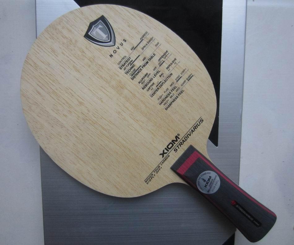 db8032acd Lâmina de tênis de mesa raquete xiom stradivarius original sports ténis de  mesa raquetes indoor sports lâmina de carbono