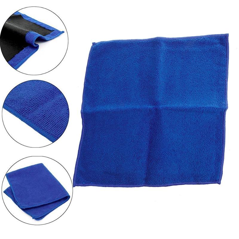 1Pc Clay Bar Microfibre Mitt Cloth Towel Auto Car Detailing 12x12 Cleaning Cloth