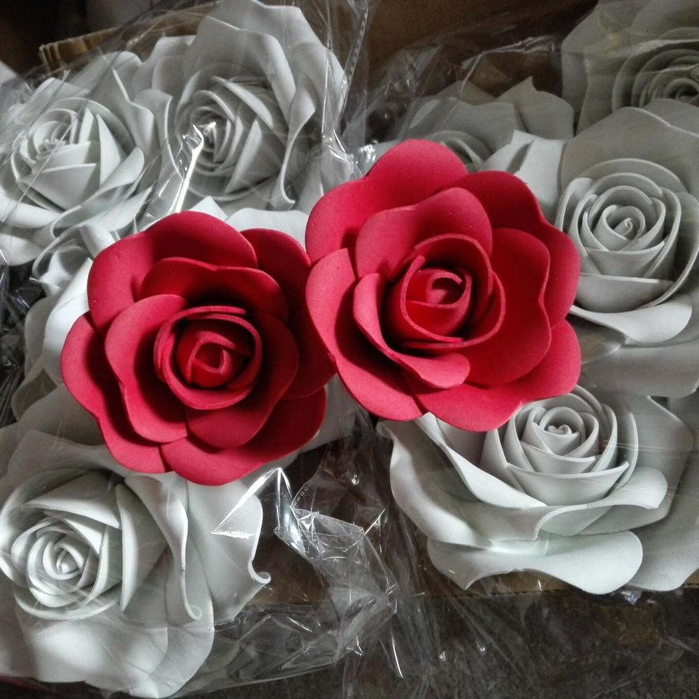 100% handmade15CM Αφρός λουλούδι Κόμμα - Προϊόντα για τις διακοπές και τα κόμματα - Φωτογραφία 4