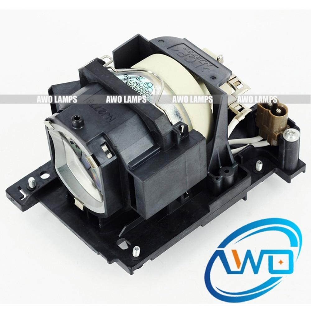 AWO 100% Originalprojektorlampe DT01171 mit Modul für HITACHI CP-WX4021 / WX4021N / WX4022 / WX5021 / WX5021N / X4021N / X4022WN / X5021N / X