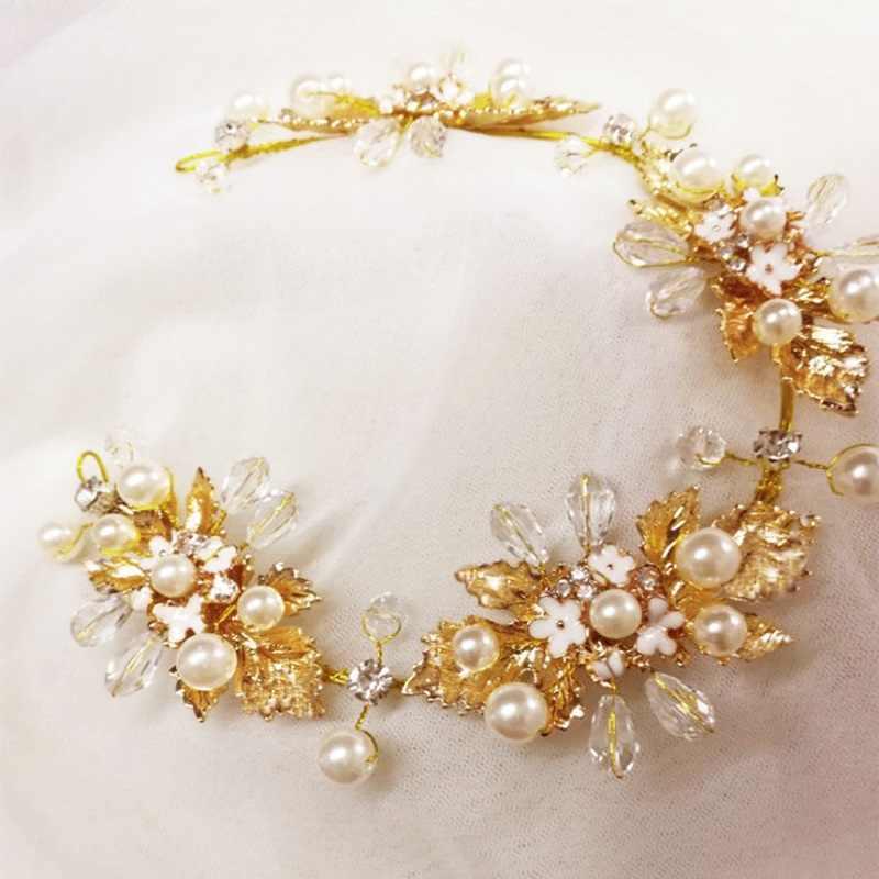 רבים סגנונות אופנה קריסטל כלה כתר מצנפות אור זהב ניזר מצנפות חתונת כלה נשים שיער תכשיטי אביזרי מתנה