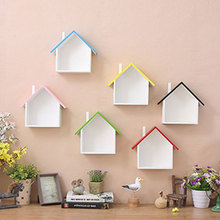 Decorative Hanging Wooden Wall Shelf