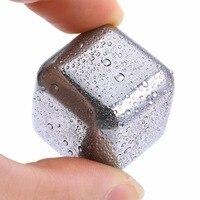 Шт. 1 шт. нержавеющая сталь кубики льда для виски камень бар товары KTV Magic Wiskey/вино/охладитель пива Rocks кулеры для льда охлаждения Чиллеры