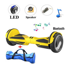 2016 New 6.5 inch bluetooth hoverboard smart balance 2 Wheel self balancing scooters electric scooter hover boards