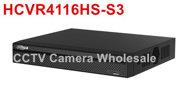 Versão inglês Dahua 16CH HCVR4116HS-S3 Tribird 720P-Lite Compact 1U HDCVI DVR para a Câmera IP, câmera e câmera HDCVI analógico