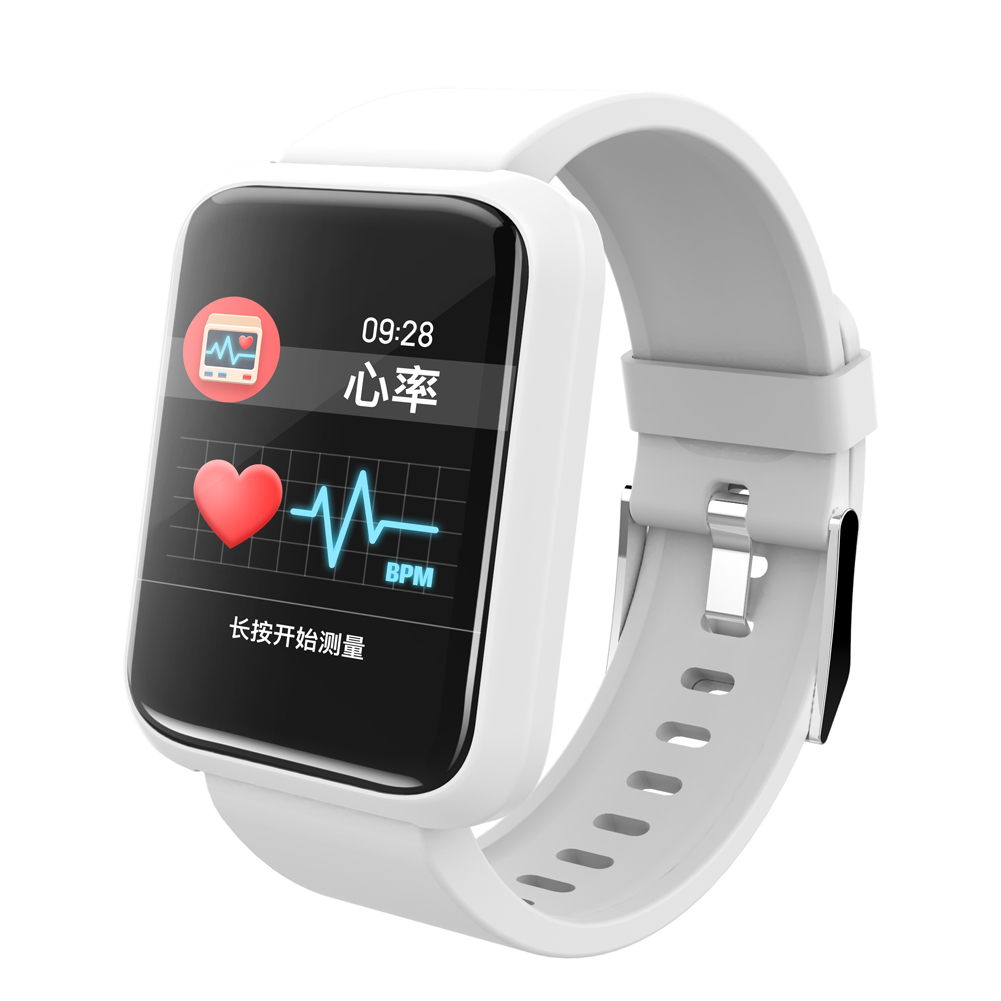 Fitness Bracelet With Heart Rate Monitor Smart Watch Men for Android iOS Bluetooth 4.1 Color Screen Smart Watches gagafeel smart watch for men women qs80 bluetooth smart watches fitness heart rate monitor smart bracelet for android ios