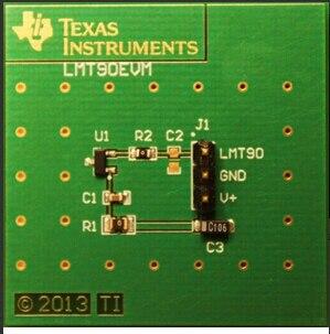 LMT90EVM:100% temperature sensor development toolsLMT90EVM:100% temperature sensor development tools