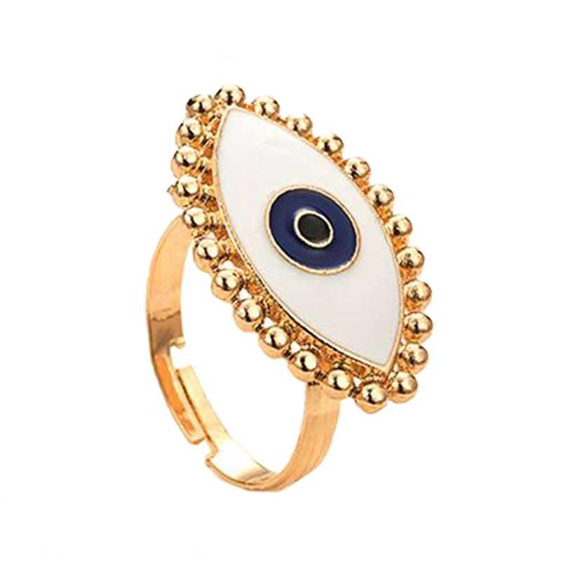 Женская мода Новинка глаза открытые кольца богемный стиль массивные кольца ювелирные аксессуары