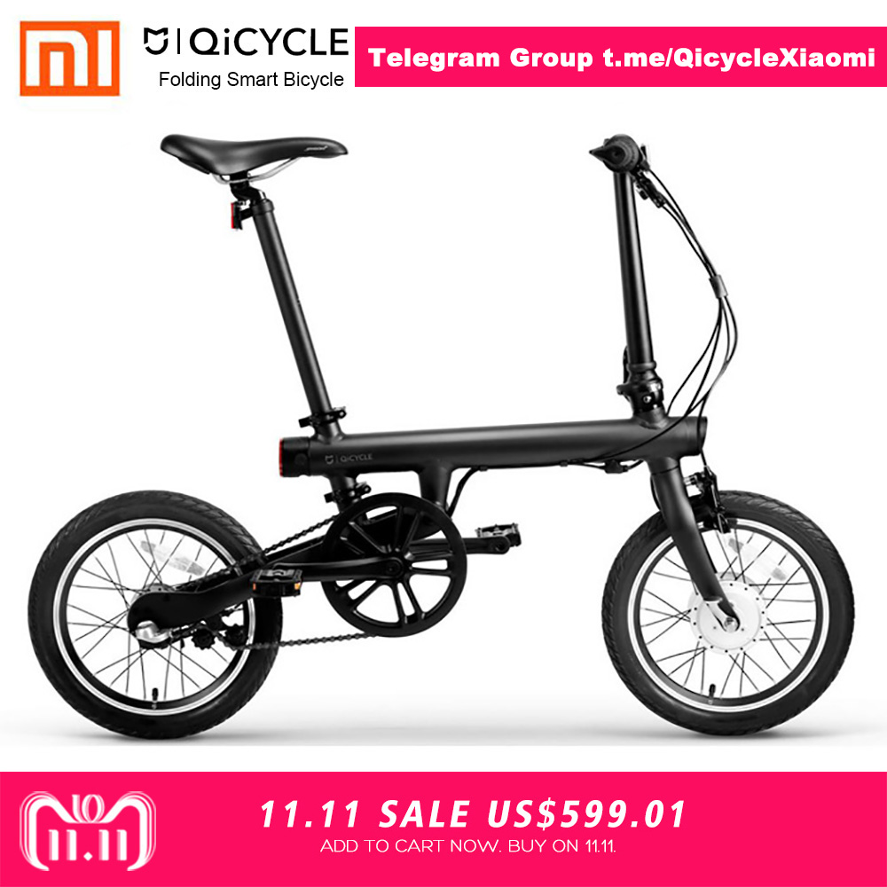 Xiaomi QiCYCLE-EF1 складной Смарт Электрический велосипед Бесплатная доставка 100% без налоговой сделки эксклюзивный для JUAN ANTONIO QiCYCLE GROUP