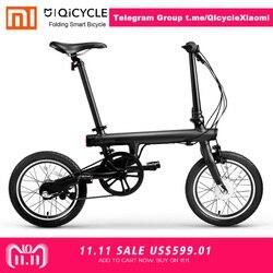 Xiaomi QiCYCLE-EF1 plegable inteligente bicicleta eléctrica envío gratis 100% sin impuestos exclusivo para JUAN ANTONIO QiCYCLE grupo