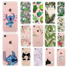 Luxury Black Matte TPU Cover Case For iPhone XS Max XR X 7 6 S 6S 8 Plus 10 Cartoon Cute Flower Phone Cases Soft Silicone Capa(China)