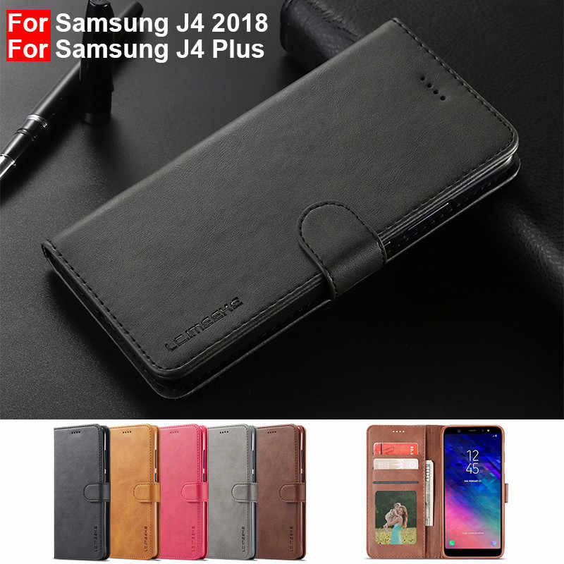 samsung galaxy j4 plus wallet case