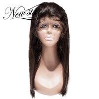 Новая звезда 360 кружева фронтальной с Кепки прямо 10 '' 20'' дюймов бразильские волосы натуральный черный цвет с ребенком волос