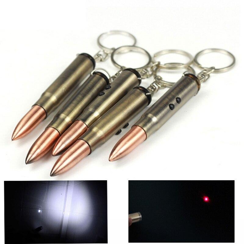 MINI lampe de poche porte-clés lampe de poche LED 2 Modes porte-clés porte-clés torche enseignement Laser pointeur lumière stylo torche pour cadeau sac à dos