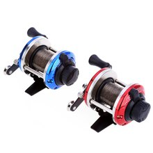 Mini Right Hand Drum Fishing Wire Winder with 0.2mm Line 50m Spinning Fishing Reel Fish Wheel For Little Jig Lure Spare Spool