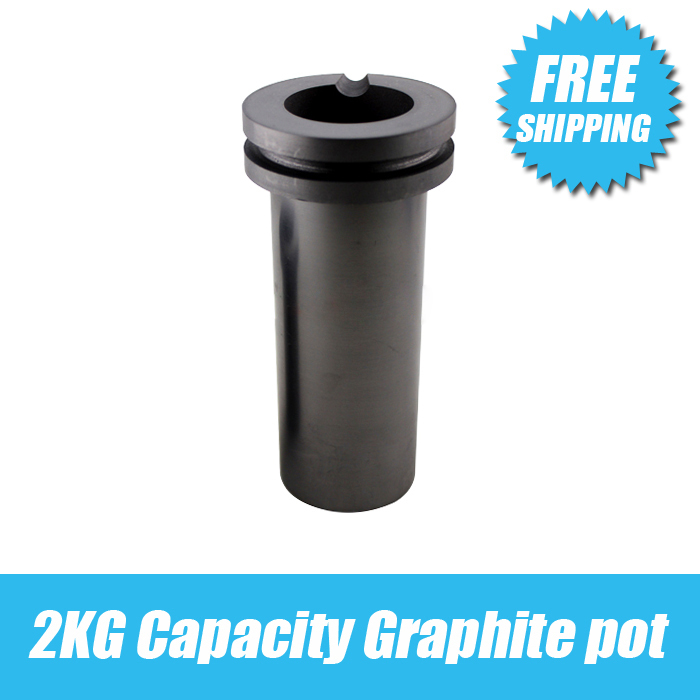 free shipping 2KG Capacity Graphite pot,Gold Melting Furnace accessories,Graphite Crucible,jewelry melting crucible goldsmith