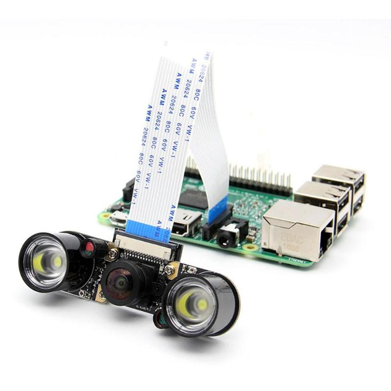 все цены на for Raspberry Pi 175 Degree Variable Focus Wide Angle Panoramic Camera Module+2pcs Infrared LED Fill Light for Raspberry Pi онлайн