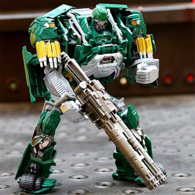 30cm bigsize Transformation Leader Hound Metal Model Movie Alloy Anime Robot Car Toy Action Figures Classic Military Truck Toys