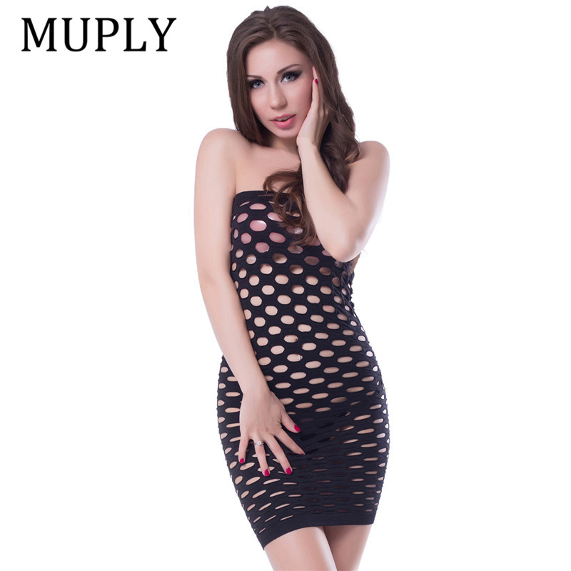 2020 Elasticity Cotton Lenceria Sexy Lingerie Hot Mesh Baby Doll Dress Erotic Lingerie For Women Sex Costumes Fishnet Underwear