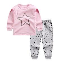 Комплект одежды для девочек комплект одежды для новорожденных девочек с капюшоном и принтом героев мультфильмов, комплект одежды для младенцев, топы, рубашка, штаны, комплект одежды, Прямая поставка