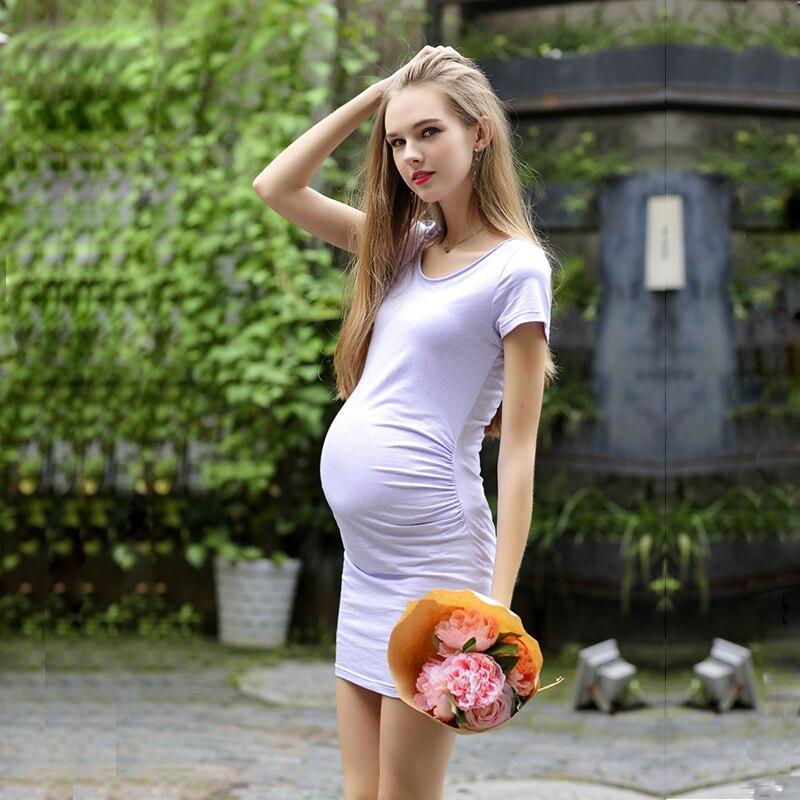2016 Нови майки случайни рокли дрехи за - Бременност и майчинство - Снимка 5