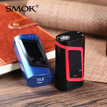 Smok Alien 220W Box Mod For 3ml TFV8 Baby Tank e Electronic Cigarette Vape 18650 Mechanical Mod VS RX200s(China)