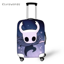 ELVISWORDS Suitcase Protective Cover Cartoon Hollow Night Prints Pattern Elastic Dust-proof Travel Luggage Accessories