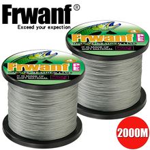 2000M 4 Strand Braided Fishing Line 0.1 0.55mm Super Strong 4Wire Multifilament Saltwater fishing Thread 6 10 20 30 50 80 100LB