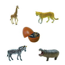 free shipping 4pcs 3D Wild animal 3966-2 educational toy KADIS plastic toys 3d puzzle