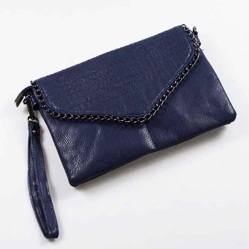 Retro Fashion Alligator Design Women's Clutches Office Lady Pouch Small Shoulder Bags Purse Pocket Messenger Flaps Bag BA180 3