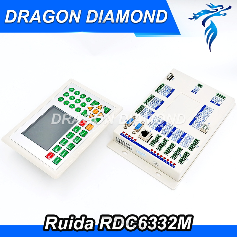Ruida RDC6332M CO2 Laser Machine Conroller Co2 Laser DSP Controller for Laser Engraving and Cutting Machine RDC 6332M