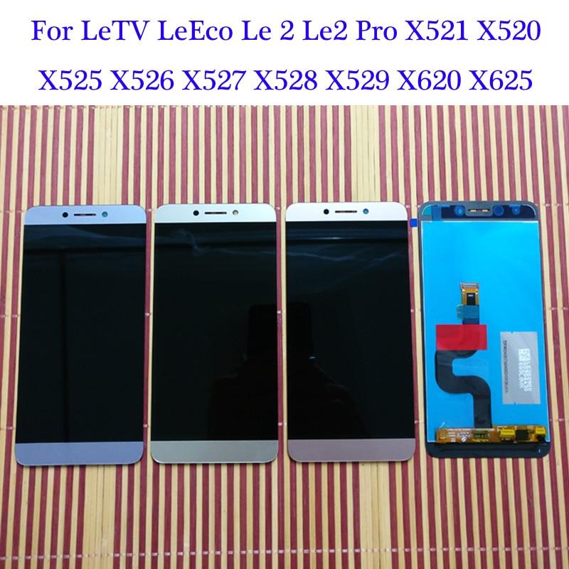 Для Letv LeEco Le 2 Le2 Pro Le S3 X522 X525 X526 X527 X528 X529 X620 X621 X625 X626 ЖК-дисплей Дисплей кодирующий преобразователь сенсорного экрана в сборе