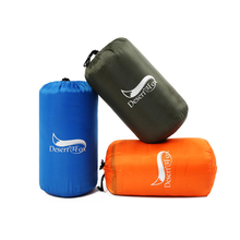 2016 Mini Ultralight mountaineering Portable Outdoor Envelope Sleeping Bag Travel Bag Hiking Camping Equipment 1kg