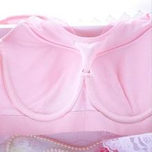 OUDOMILAI Large Size Bra Wide Soft Push Up Bras For Women Underwear Lace Sexy Vest Bra Big Size lingerie Plus Brassiere C D Bh