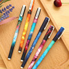 6 / Bag, 6 Different Colors /0.5 Mm Pen Fresh And Lovely Watercolor Style Gel Pen / Creative Star Gel Kit