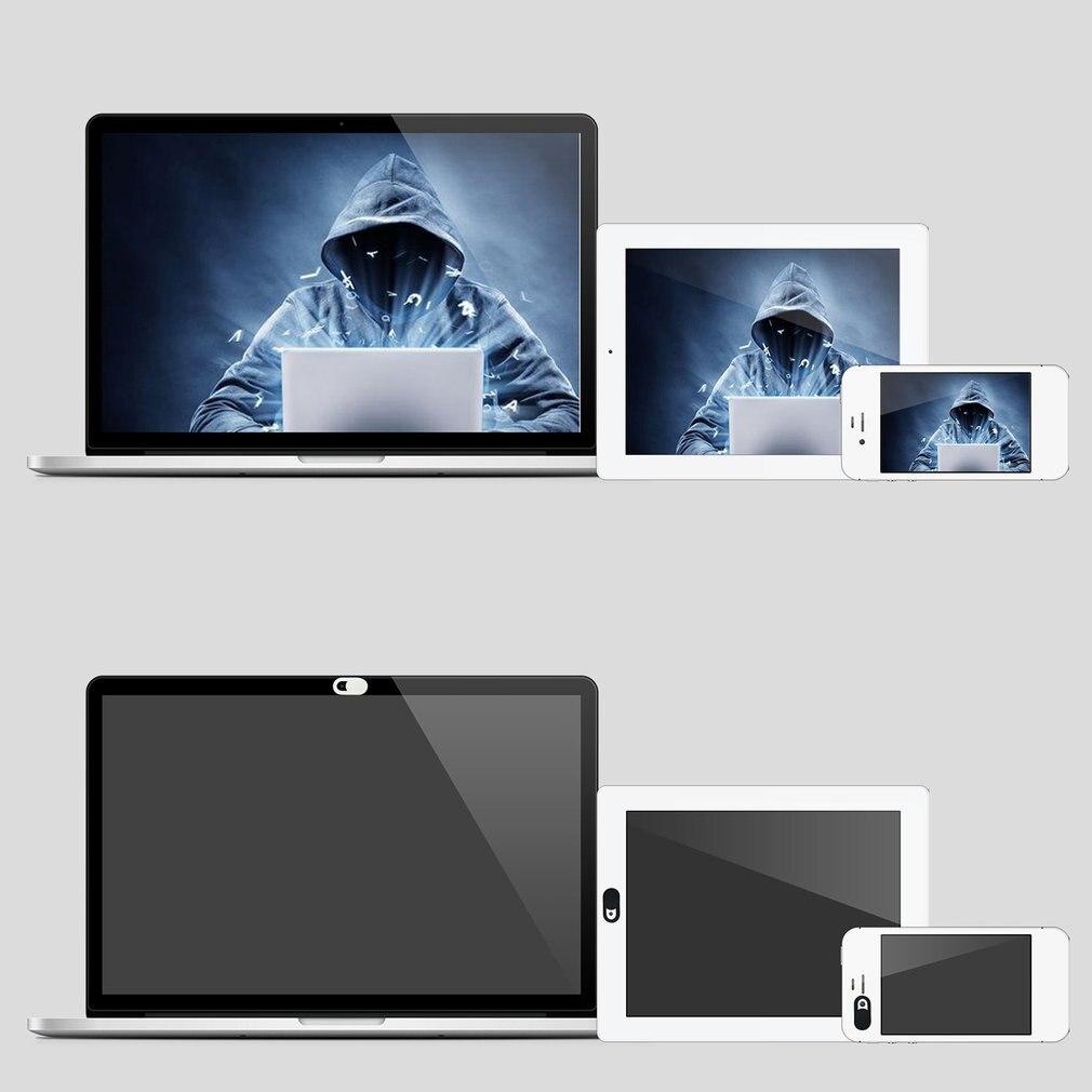 1шт портативный размер камеры крышка затвора Магнит слайдер пластиковые камеры чехол для ноутбука для планшетных ПК конфиденциальности